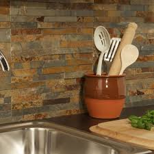 Slate Wall Tiles Kitchen 4 10m2 Or Sample Antique Sienna Ledgestone Slate Kitchen Wall Tile