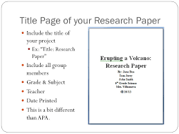 Science Project Title Page Mrs Villanueva Science Science Fair Assignments Ppt Download