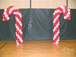 Candy Cane Theme Decorations Christmas Balloon Decor Party Favors Ideas 35