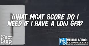 What Mcat Score Do I Need If I Have A Low Gpa Medical