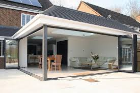 bifold doors extension