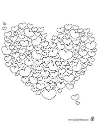 Animaux Coloriage De Coeur Coloriage De Coeur I Love You