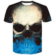 <b>menswear 2019</b> Rick and Morty <b>marvel</b> 3D T Shirt Skull Newest ...