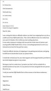 Two-Week Resignation Letter Samples | Resignation Letter2 ...