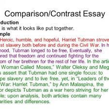 writing comparative essay resume cv cover letter slide college comparison contrast essay example paper writing a comparison contrast essay online writing service slide