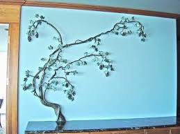 metal vine wall art