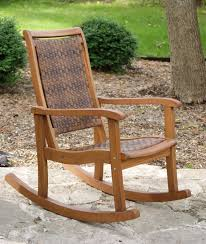 great rocking patio chairs outdoor wicker rocking chairs patio wicker amp wood furniture club outdoor remodel concept