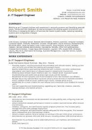 It Support Engineer Resume Samples Qwikresume