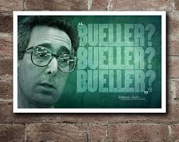 Ferris Bueller Quotes Stunning Ferris Bueller Quote Etsy