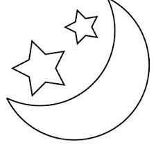 Small Picture Moon And Star Coloring Sheets Coloring Pages Ideas