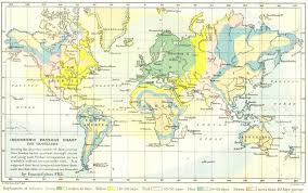 Time Travel Isochronic Charts Map Far Out Journeys