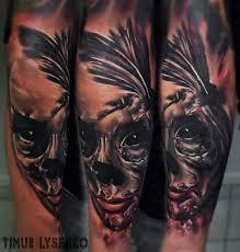 художественная татуировка Dain666