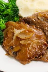 crock pot cube steak with gravy recipe