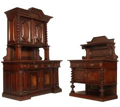 oak hutch for antique dining set two sideboard cabinet buffet renaissance oak hutch and small wood buffets sideboards black with glass doors table for
