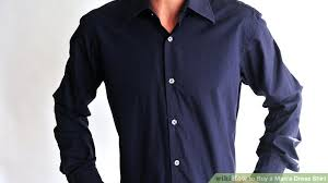 Dress Shirt Wiki How To Buy A Mans Dress Shirt 7 Steps With Pictures Wikihow