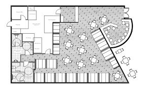 Small Restaurant Kitchen Layout Restaurant Floor Plan