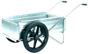 collapsible utility cart 2 wheel folding outstanding two wheeled garden with wheels wagon ysc ping beach bl
