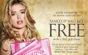 free makeup bag set victoria s secret