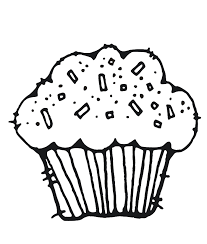 Small Picture Muffin Coloring Pages Cupcake Coloring Page Picturespng Pages