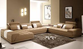 The Interior Of A Living Room In Brown Color: Features, Photos Of Interior  Examples