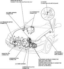 ac wiring harness ac compressor electrical connector wiring Relay Connector Diagram 1996 honda accord wiring harness diagram honda accord wiring ac wiring harness 1996 honda accord wiring relay connector diagram