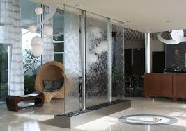 benefits of indoor fountain water feature wall divider
