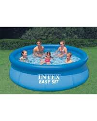 intex easy set pool. Intex 10\u0027 X 30 Easy Set Swimming Pool (28120)