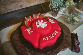 Surprise Firefighter Proposal Real Rustic Wedding