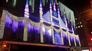 Saks Fifth Avenue Light Show 2016 Schedule Saks 5th Avenue Christmas Light Show