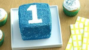 Easy 1st Birthday Cake Boy Sprinkles Smash Recipe Babyplanet
