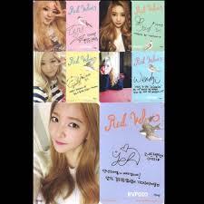 Cheap Instocks Wts Red Velvet Ice Cream Cake Icc Photocard