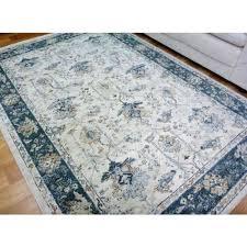 blue area rugs 6x9 amazing cream rug with blue border classical design floor area for cream