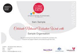 Volunteer Certificate Download Centre Volunteering Australia Volunteering Australia