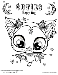 Small Picture Littlest Pet Shop Cuties Coloring Pages GetColoringPagescom