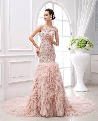 27 gorgeous blush wedding dresses for romantic brides