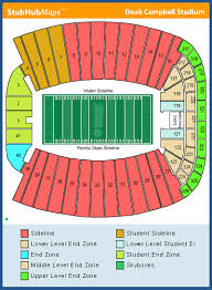 Doak Stadium Seating Chart Doak Campbell Stadium Seating Chart Share On Doak Campbell