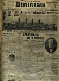 Old West Newspaper Template How Historic Newspapers Covered The Titanic Disaster