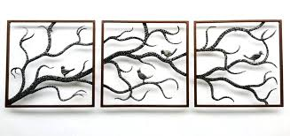 outdoor wall art metal awesome large outdoor wall art metal metal birch three framed branch cute outdoor wall art metal