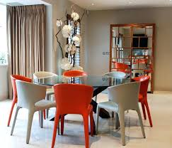 red glass dining table round glass dining table with colorful chairs red glass top dining table red glass dining table