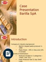 barilla spa research inventory supply chain