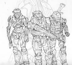 Small Picture Halo 3 Coloring Pages 18 Halo ODST Helmet At Book For Kids Boys