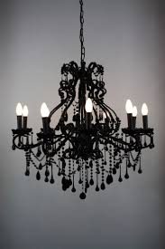 Small Black Chandelier For Bedroom Wonderful Black Crystal Chandelier Ideas Homepsycho