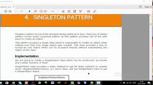 Singleton Pattern In Java Best Ideas