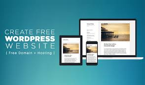 how to make a free how to create a free wordpress website free domain hosting