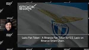 LAZIO FAN TOKEN IN BINANCE LAUNCHPAD - YouTube