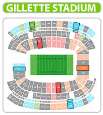 Gillette Seating Chart With Rows Unmistakable New England Patriots Stadium Map Gillette