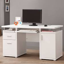 computer desks for office. Modren For Decoration White Wooden Computer Desks Wood Desk Gorgeous Office Furniture  With Regard To 5 From In For L
