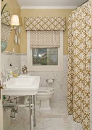 for a truly custom look tie in your window treatments with your shower curtain dstyle can custom make roman shades for any window