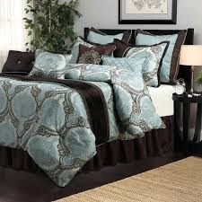 aqua and brown bedding aqua brown medallion 8 piece comforter set aqua blue and brown bedding aqua and brown bedding