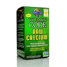 garden of life raw calcium plant based